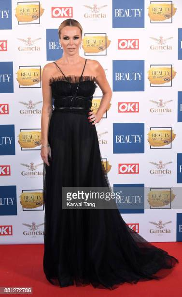 Amanda Holden attends The Beauty Awards at Tower of London on November 28 2017 in London England