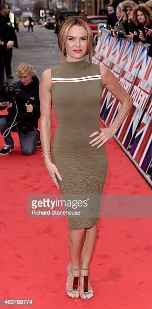 Amanda Holden attends the Britain's Got Talent auditions at Birmingham Hippodrome on February 5 2015 in Birmingham England