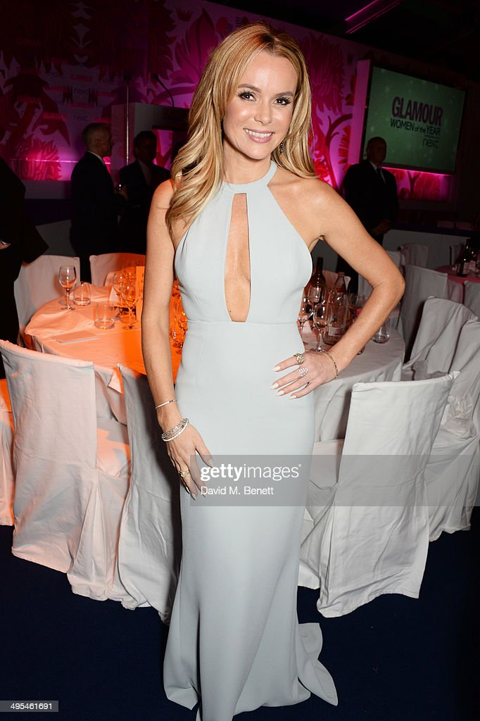<a gi-track='captionPersonalityLinkClicked' href=/galleries/search?phrase=Amanda+Holden&family=editorial&specificpeople=202922 ng-click='$event.stopPropagation()'>Amanda Holden</a> attends the Glamour Women of the Year Awards after party in Berkeley Square Gardens on June 3, 2014 in London, England.