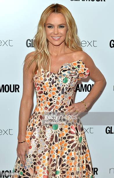 Amanda Holden attends the Glamour Women Of The Year Awards at Berkeley Square Gardens on June 2 2015 in London England