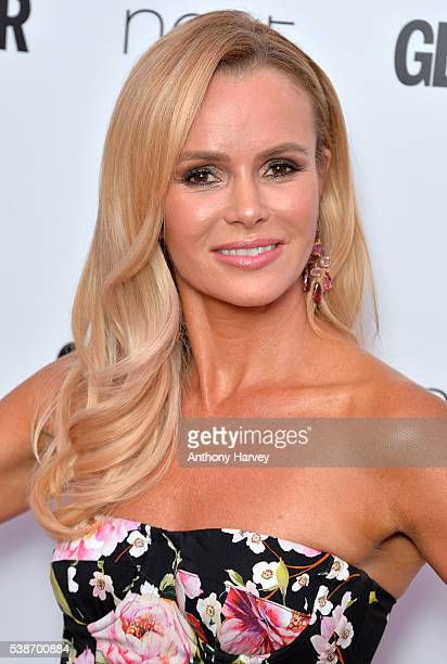 Amanda Holden attends the Glamour Women Of The Year Awards at Berkeley Square Gardens on June 7 2016 in London England