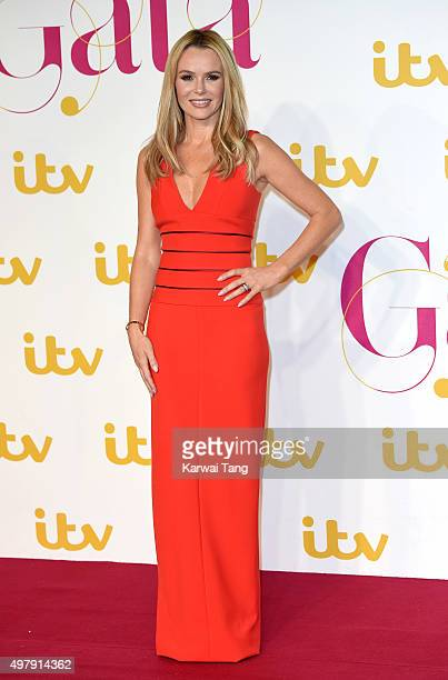 Amanda Holden attends the ITV Gala at London Palladium on November 19 2015 in London England