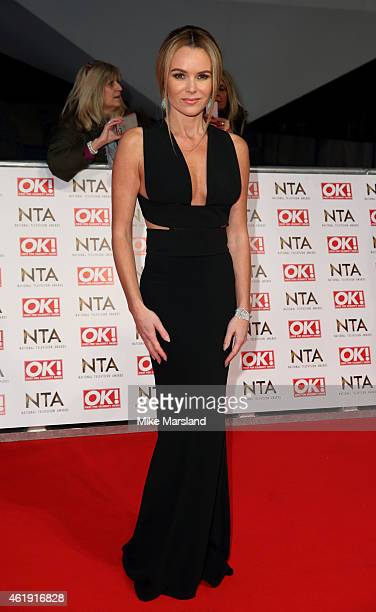 Amanda Holden attends the National Television Awards at 02 Arena on January 21 2015 in London England