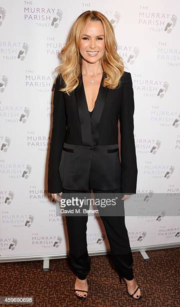 Amanda Holden attends 'The Odd Ball' 'hosted by The Murray Parish Trust at The Royal Garden Hotel on November 28 2014 in London England