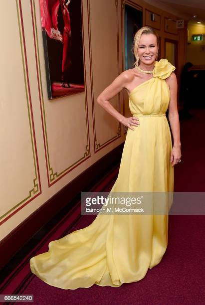 Amanda Holden attends The Olivier Awards 2017 at Royal Albert Hall on April 9 2017 in London England