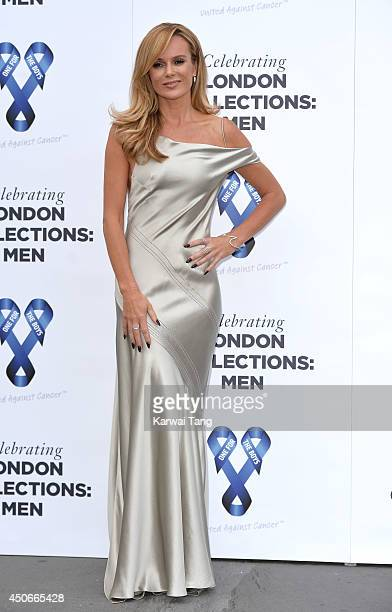 Amanda Holden attends the One For The Boys charity ball during the London Collections Men SS15 on June 15 2014 in London England