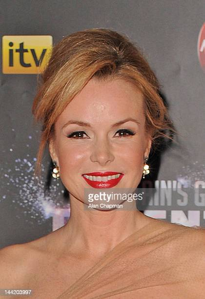 Amanda Holden attends the prefinal party of Britain's Got Talentsponsored by Virgin Media at Banqueting House on May 11 2012 in London England