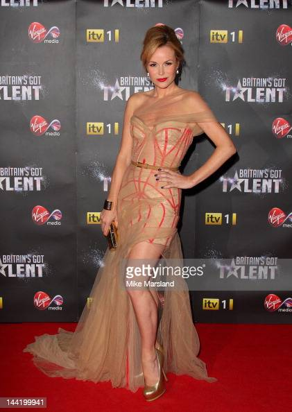 Amanda Holden attends the prefinal party of Britain's Got Talent sponsored by Virgin Media at Banqueting House on May 11 2012 in London England