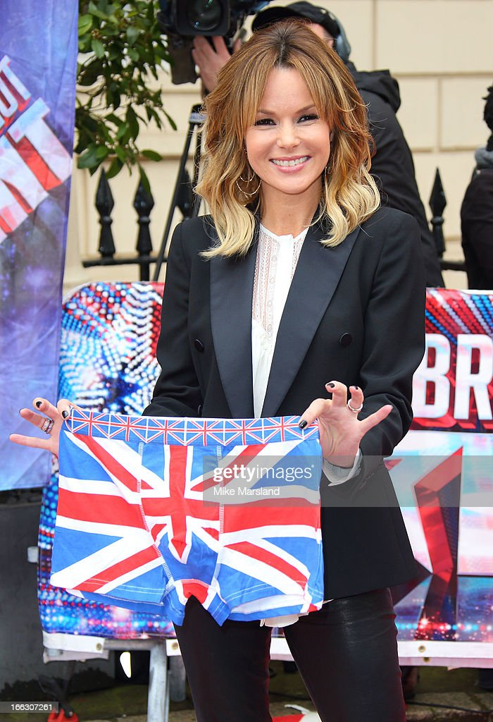 Amanda Holden attends the press launch for the new series of 'Britain's Got Talent' at ICA on April 11, 2013 in London, England.
