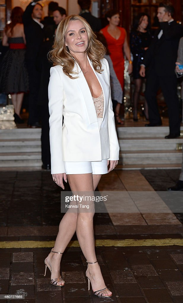 <a gi-track='captionPersonalityLinkClicked' href=/galleries/search?phrase=Amanda+Holden&family=editorial&specificpeople=202922 ng-click='$event.stopPropagation()'>Amanda Holden</a> attends the press night of 'I Can't Sing! The X Factor Musical' at London Palladium on March 26, 2014 in London, England.