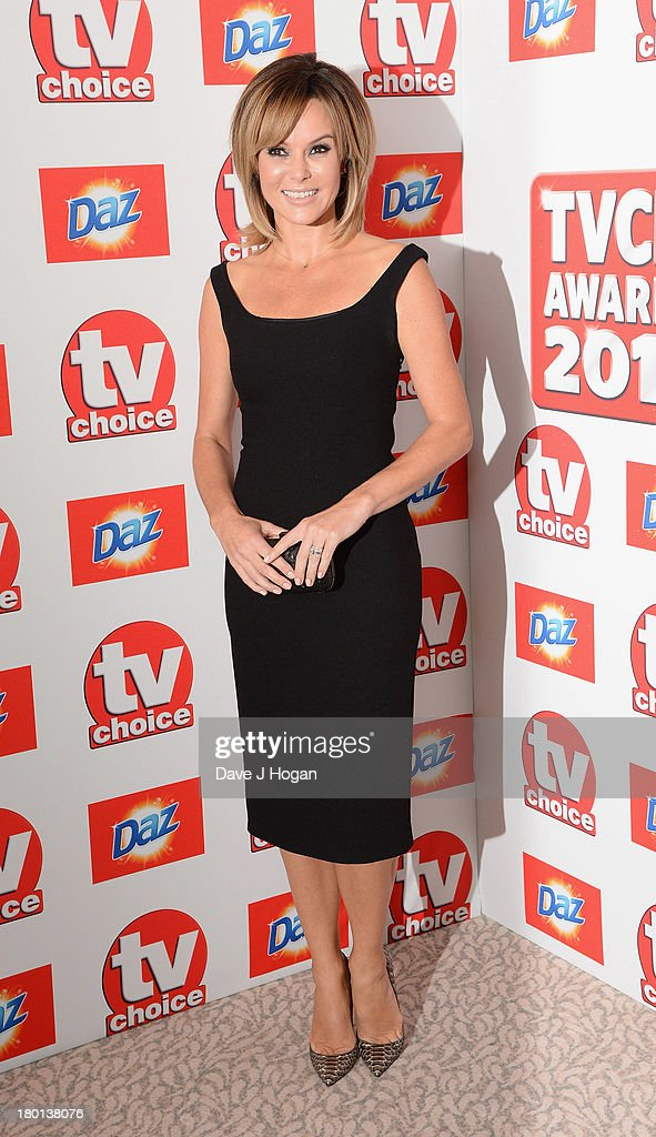 Amanda Holden attends the TV Choice Awards 2013 at The Dorchester on September 9, 2013 in London, England.