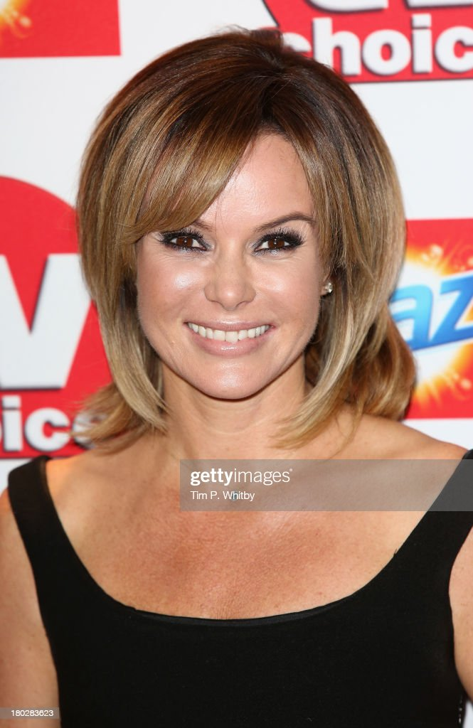 Amanda Holden attends the TV Choice Awards 2013 at The Dorchester on September 9, 2013 in London, England