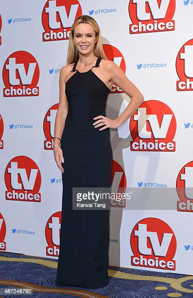 Amanda Holden attends the TV Choice Awards 2015 at Hilton Park Lane on September 7 2015 in London England
