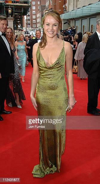 Amanda Holden during The 2006 British Academy Television Awards Arrivals at Grosvenor House in London Great Britain