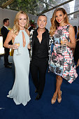 Amanda Holden Julien Macdonald and Alesha Dixon attend the Glamour Women of the Year Awards in Berkeley Square Gardens on June 3 2014 in London...