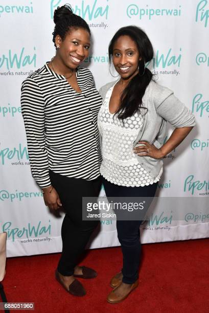 Amanda JohnsonKJ Miller attend PiperWai NYC Launch Event at Vnyl on May 24 2017 in New York City