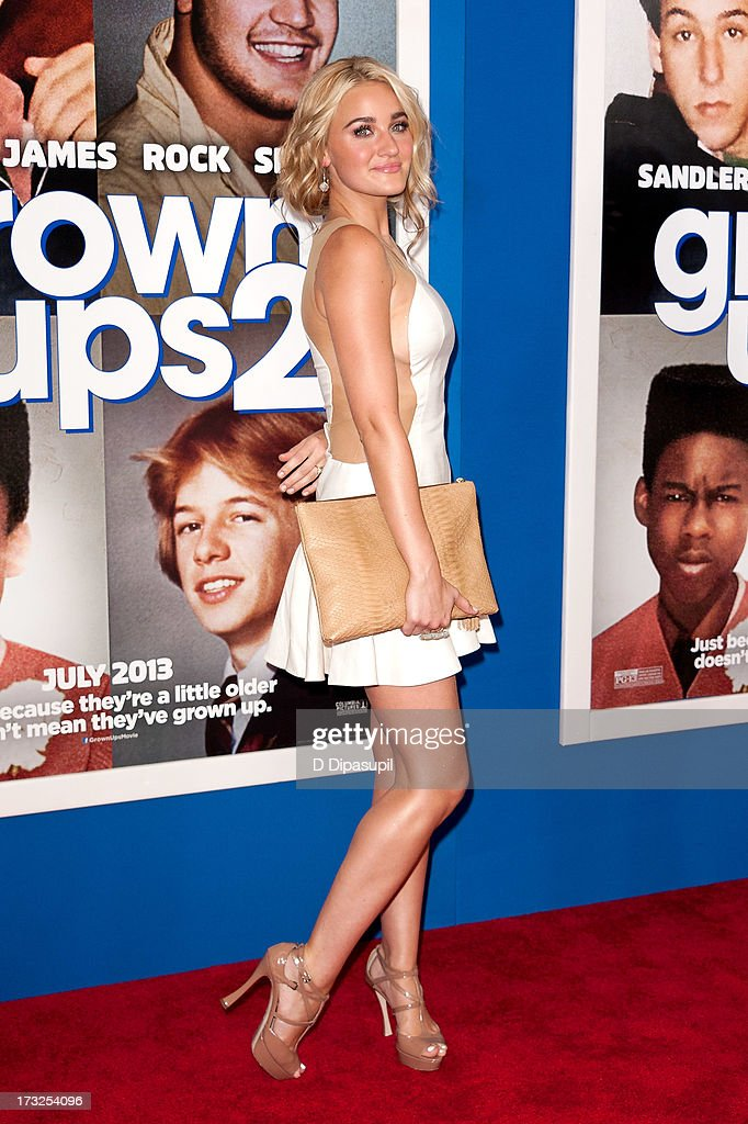Amanda Joy 'AJ' Michalka attends the 'Grown Ups 2' New York Premiere at AMC Lincoln Square Theater on July 10, 2013 in New York City.