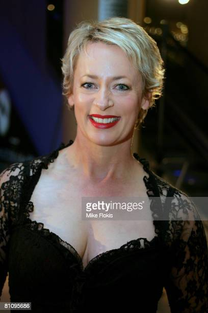 Amanda Keller attends the Sydney premiere of The Phantom of the Opera at the Lyric Theatre on May 15 2008 in Sydney Australia