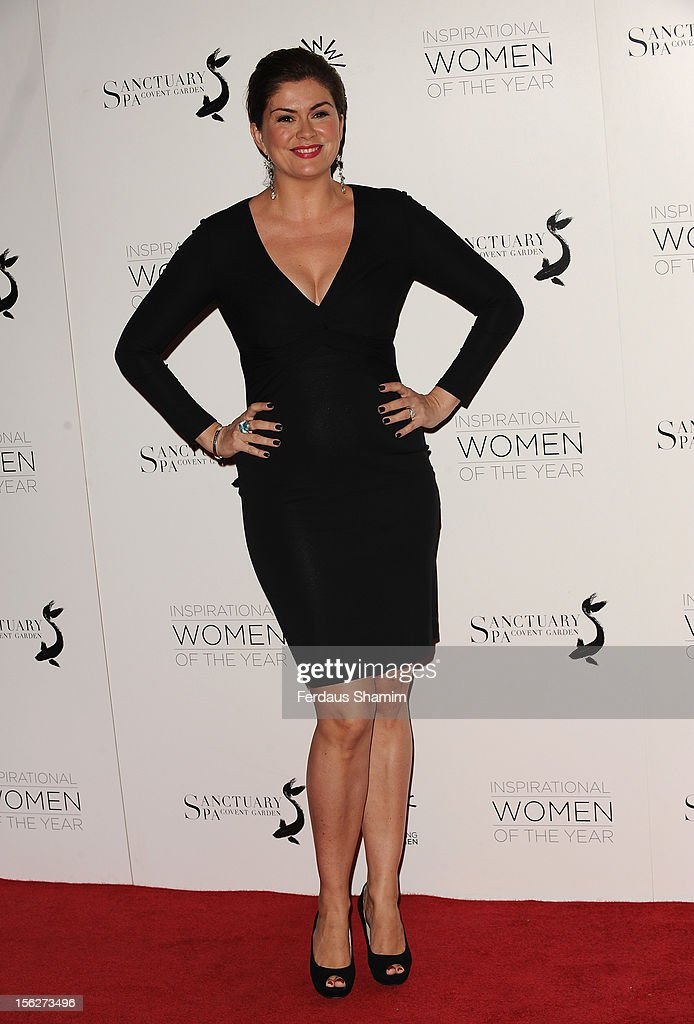 Amanda Lamb attends The Daily Mail Inspirational Women of the Year Awards sponsored by Sanctuary Spa and in aid of Wellbeing of Women at Marriott Hotel Grosvenor Square on November 12, 2012 in London, England.