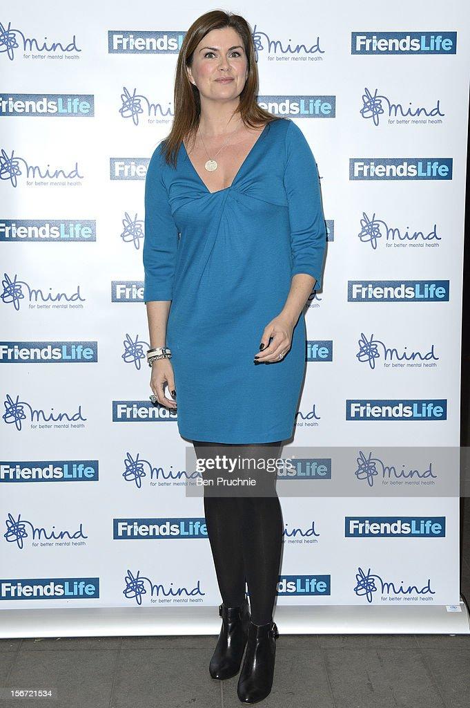 Amanda Lamb attends the Mind Mental Health Media Awards at BFI Southbank on November 19, 2012 in London, England.