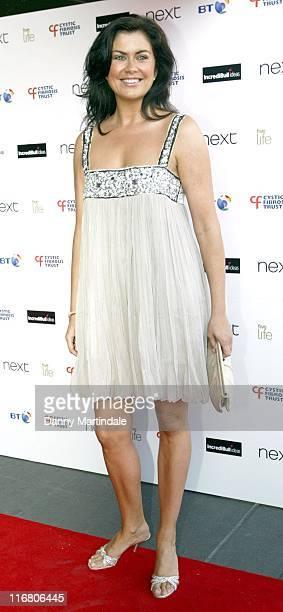 Amanda Lamb during Cystic Fibrosis Trust 'Breathing Life Awards' Red Carpet Arrivals at Hilton London Metropole in London Great Britain