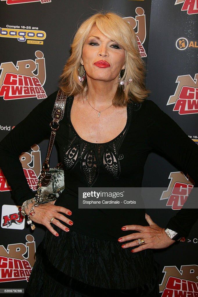 Amanda Lear attends the NRJ Cine Awards.