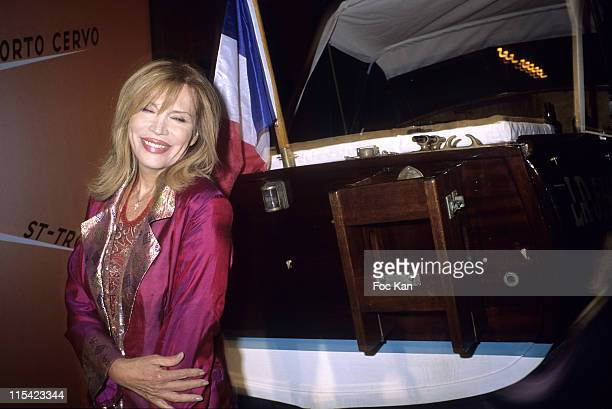 Amanda Lear during Chivas Royal Indian Summer Party 2006 at Castel Club in Paris France