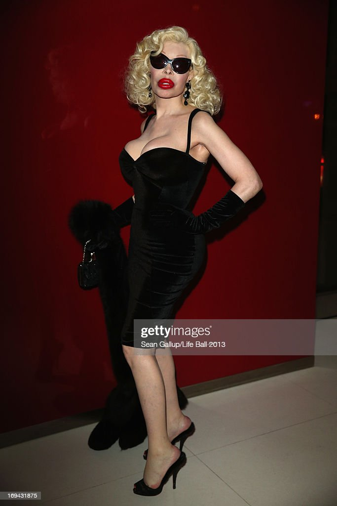 Amanda Lepore attends the 'Life Ball 2013 - Welcome Cocktail' at Le Meridien Hotel on May 24, 2013 in Vienna, Austria.