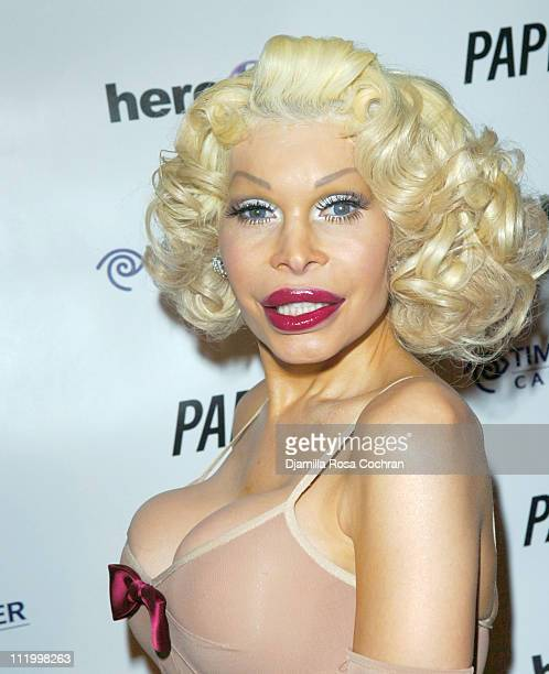 Amanda Lepore during 'John Waters Presents Movies That Will Corrupt You' Launch Party at Happy Valley in New York City New York United States