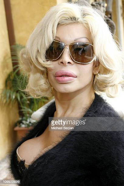 Amanda Lepore during THE HOUSE OF FLAUNT OSCAR RETREAT Day 4 at Private Residence in Los Angeles CA United States