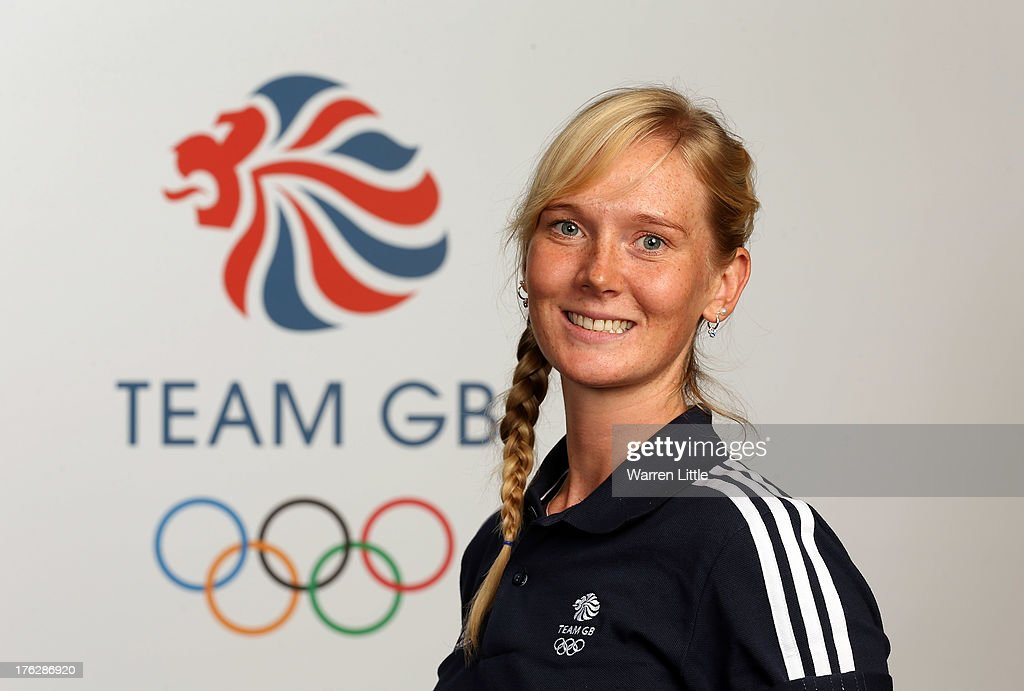 Amanda Lightfoot of the British Winter Olympic Biathlon Team poses for a portrait during the Team GB Winter Olympic Media Summit at Bath University on August 9, 2013 in Bath, England.