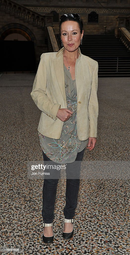 Amanda Mealing attends the launch party for 'The Deep' exhibition at Natural History Museum on May 26, 2010 in London, England.