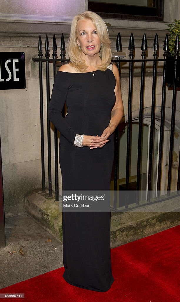 Amanda Nevill attends a gala dinner hosted by the BFI ahead of the London Film Festival at 8 Northumberland Avenue on October 8, 2013 in London, England.