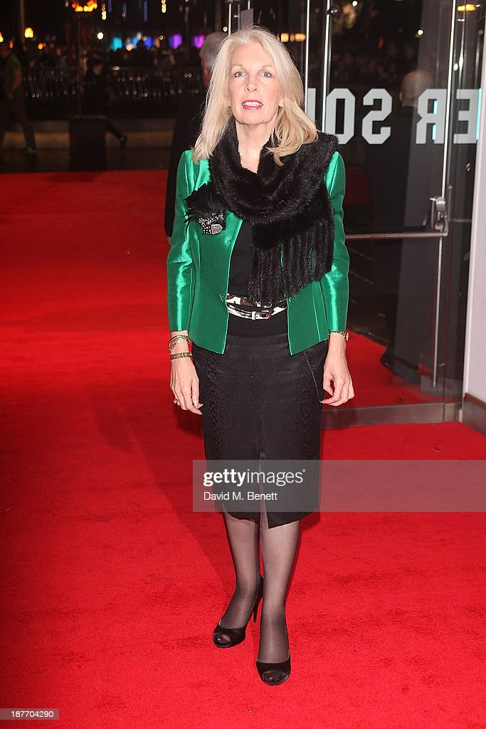 Amanda Nevill attends the UK Premiere of 'The Hunger Games: Catching Fire' at Odeon Leicester Square on November 11, 2013 in London, England.