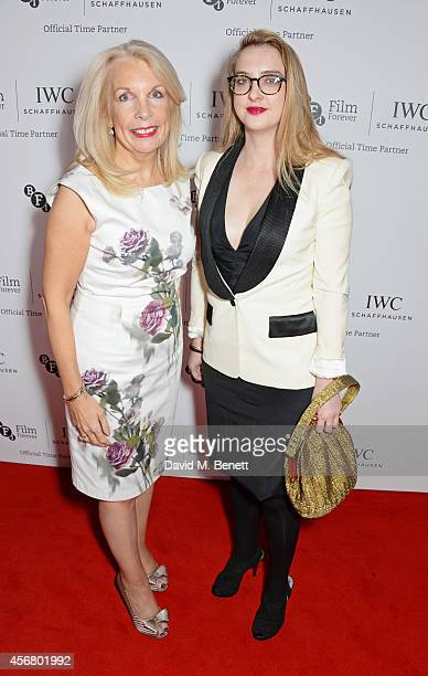 Amanda Nevill CEO of the BFI and Daisy de Villeneuve attend the BFI London Film Festival IWC Gala Dinner in honour of the BFI at Battersea Evolution...