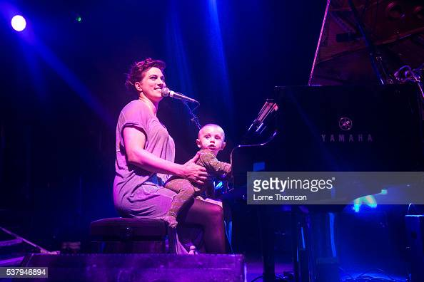 Amanda Palmer and Anthony Gaiman perform at KOKO on June 3 2016 in London England