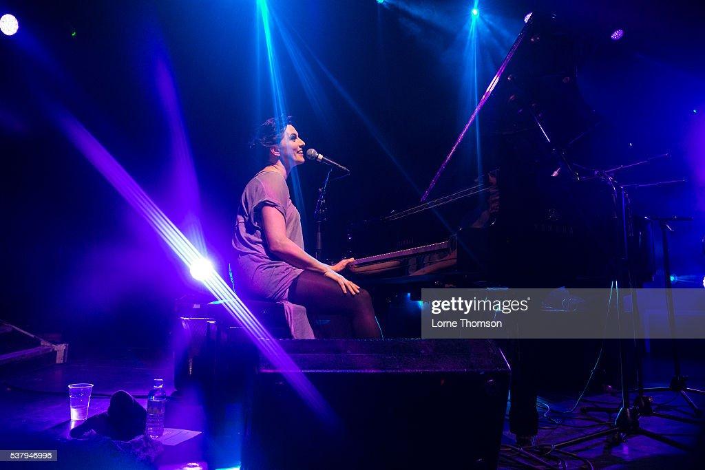 Amanda Palmer performs at KOKO on June 3 2016 in London England