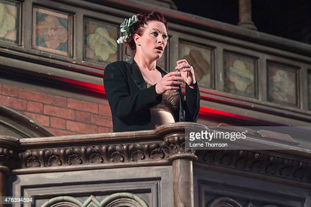 Amanda Palmer performs at the Union Chapel on June 8 2015 in London United Kingdom