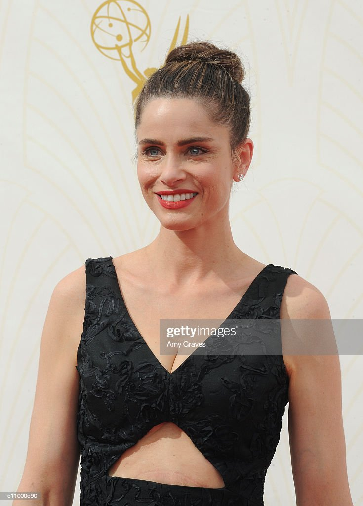 Amanda Peet attends the 67th Annual Primetime Emmy Awards on September 20, 2015 in Los Angeles, California.