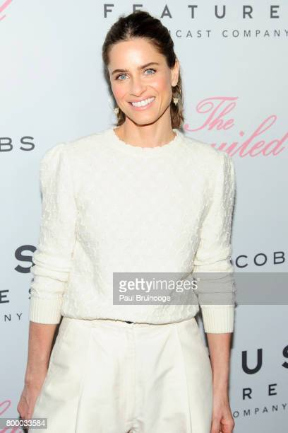 Amanda Peet attends 'The Beguiled' New York Premiere Arrivals at Metrograph on June 22 2017 in New York City