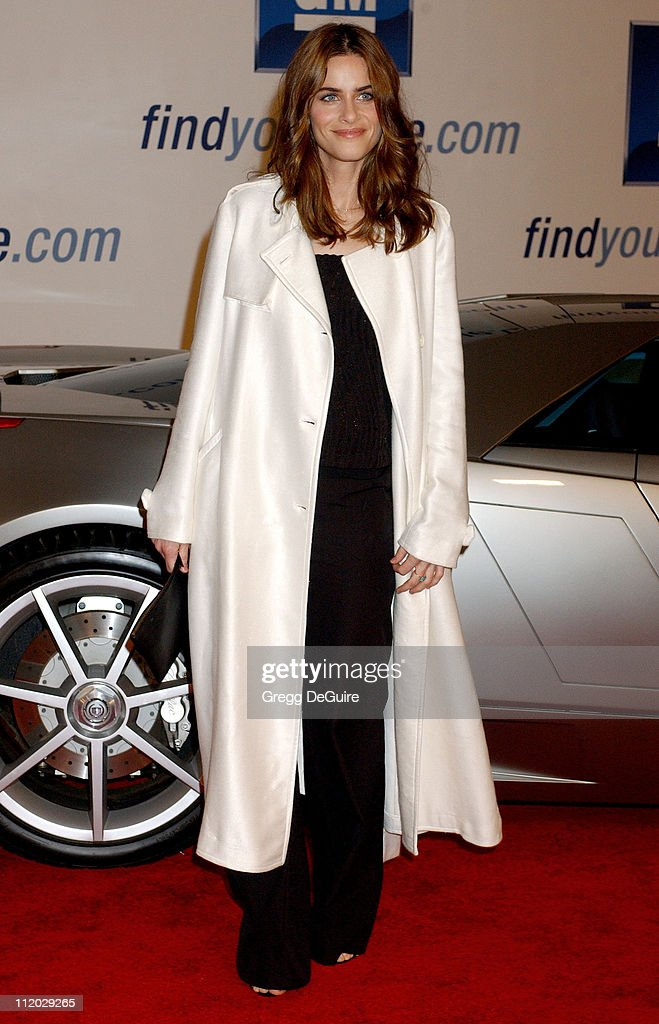 Amanda Peet during 4th Annual 'ten' Fashion Show Presented By General Motors at Pavilion in Hollywood in Hollywood, California, United States.