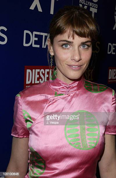 Amanda Peet during Details Magazine NEXT Party at Avalon Hotel in Beverly Hills California United States