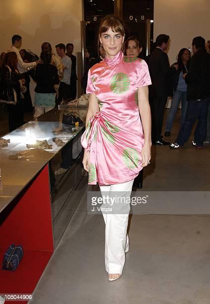 Amanda Peet during Miu Miu Party for IFP Los Angeles Filmmaker Labs at Miu Miu Store in Los Angeles California United States