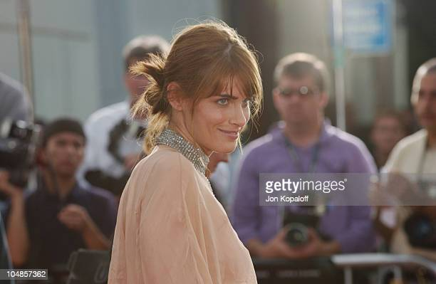 Amanda Peet during 'Seabiscuit' Los Angeles Premiere at Mann's Bruin in Los Angeles California United States