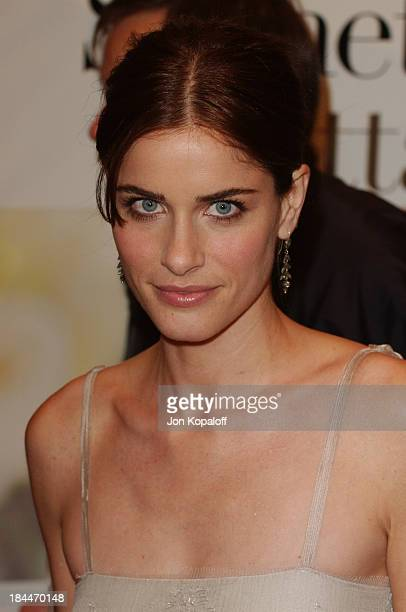 Amanda Peet during 'Something's Gotta Give' Los Angeles Premiere at Mann Village Theater in Westwood California United States