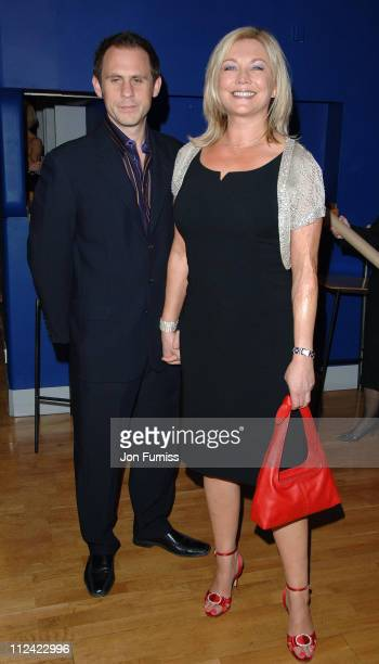 Amanda redman and guest during 'Three' London Premiere Inside Arrivals at Odeon Leicester Square in London Great Britain