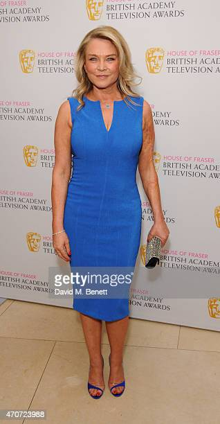 Amanda Redman attends the BAFTA Nominees Party at The Corinthia Hotel on April 22 2015 in London England