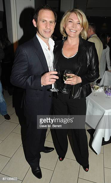 Amanda Redman attends the first night after party of 'Duet For One' at One Aldwych on May 12 2009 in London England