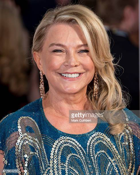 Amanda Redman attends the House of Fraser British Academy Television Awards at Theatre Royal on May 10 2015 in London England
