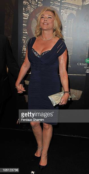 Amanda Redman attends 'The Specsavers Crime Thriller Awards 2010' at Grosvenor House on October 8 2010 in London England